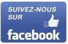 Facebook icone suivez-nous