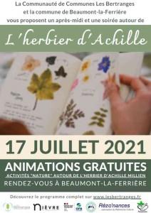 Affiche Herbier Achille